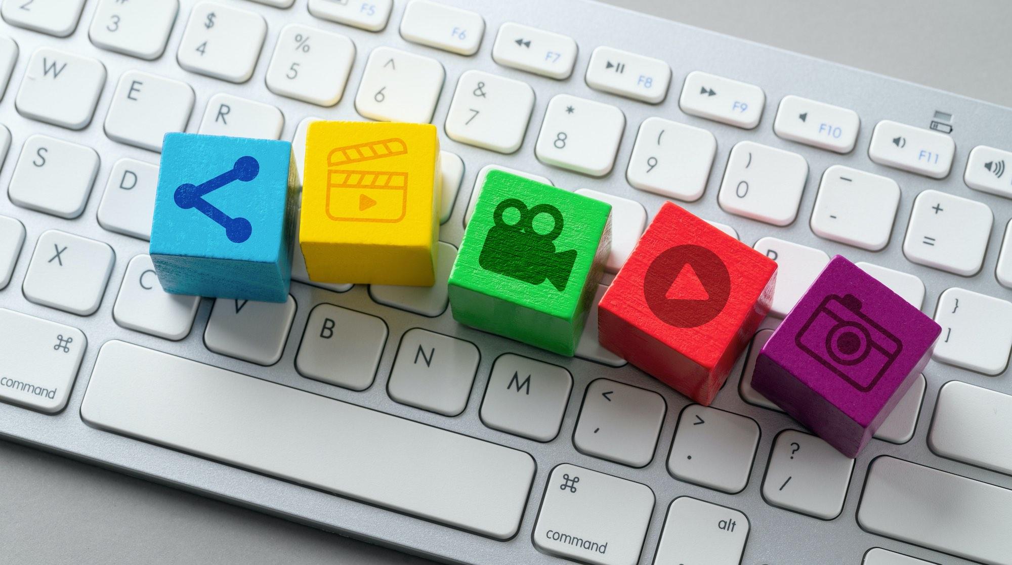 Gebruik verschillende contentvormen